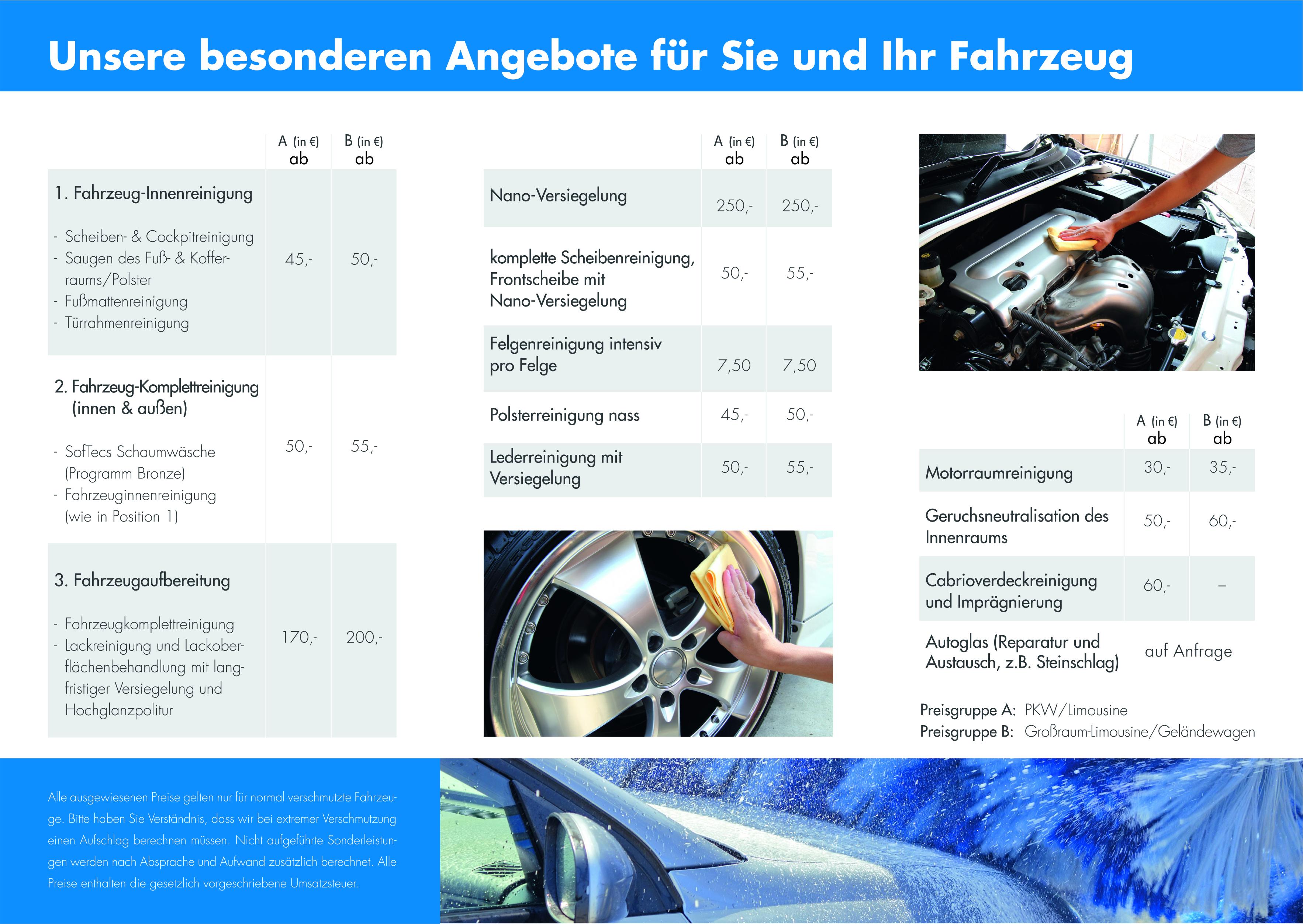 Flyer_Fahrzeugaufbereitung