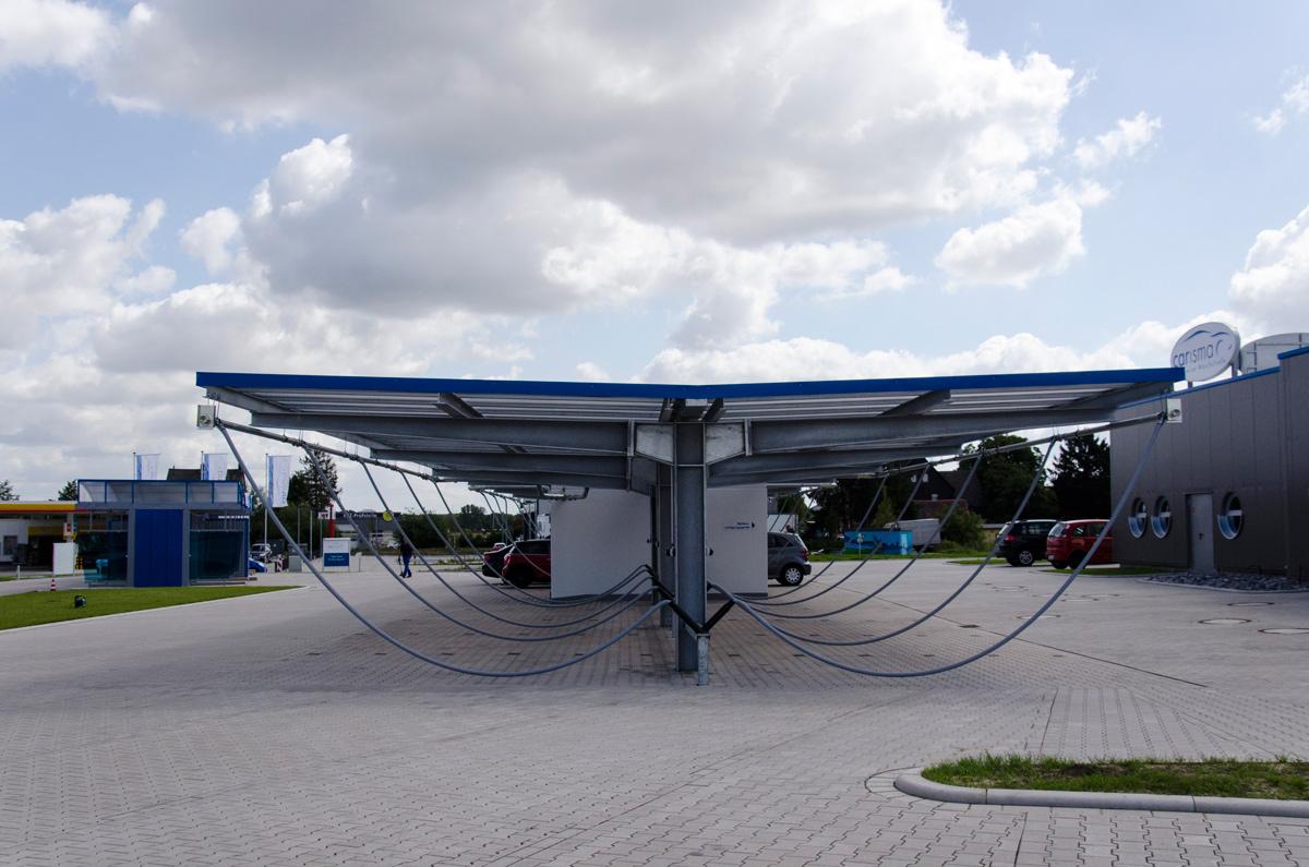 Biologische Wasserreinigung in der Wachanlage carisma Premium-Waschstraße bei Bönen